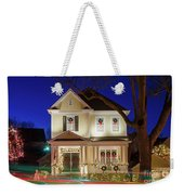 Christmas Village Weekender Tote Bag