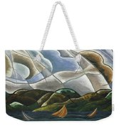 Clouds And Water Weekender Tote Bag