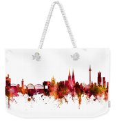 Cologne Germany Skyline Weekender Tote Bag