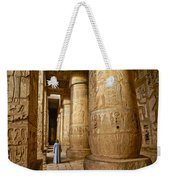 Colonnade In An Egyptian Temple Weekender Tote Bag