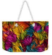 Daisy Petals Abstracts Weekender Tote Bag