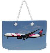 Delta Airlines Boeing 767 Weekender Tote Bag