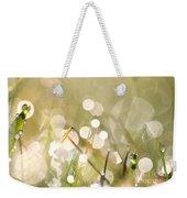 Dew In Grasses Weekender Tote Bag