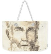 Drawing Of Ancient Sculpture Weekender Tote Bag