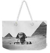 Egypt: Great Sphinx Weekender Tote Bag