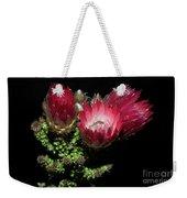 Exotic Flower Weekender Tote Bag