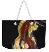 Fat Nude Woman  Weekender Tote Bag