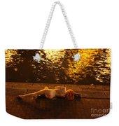 Fawnya Frolic Weekender Tote Bag