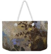 Flowers In A Black Vase Weekender Tote Bag