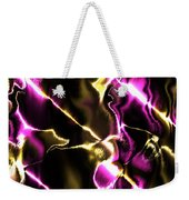 Fractal Modern Art Seamless Generated Texture Weekender Tote Bag