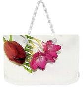 Freesia And Tulip Weekender Tote Bag