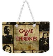 Game Of Thrones. House Stark. Weekender Tote Bag