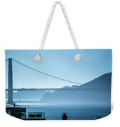 Golden Gate Bridge In Its Beauty At Sunset Weekender Tote Bag