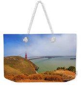 Golden Gate Bridge Vista Point Weekender Tote Bag