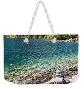 Green Water Mountain Lake Morskie Oko, Tatra Mountains, Poland Weekender Tote Bag