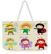 Happy Children  Weekender Tote Bag