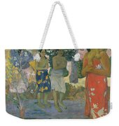 Ia Orana Maria Hail Mary Weekender Tote Bag
