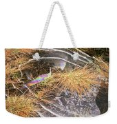5. Ice Prismatics In Grass 2, Loch Tulla Weekender Tote Bag