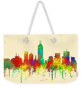 Indiana Indianapolis Skyline Weekender Tote Bag