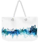 Istanbul Turkey Skyline Weekender Tote Bag