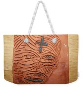Jesus Christ  - Tile Weekender Tote Bag