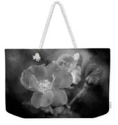 Knockout Roses Painted Bw Weekender Tote Bag