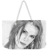 Miss Beckinsale  Weekender Tote Bag