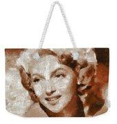 Lana Turner Vintage Hollywood Actress Weekender Tote Bag