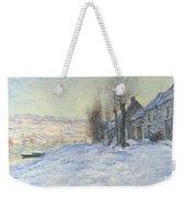 Lavacourt Under Snow Weekender Tote Bag