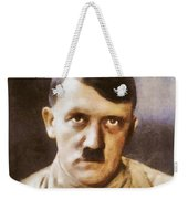 Leaders Of Wwii, Adolf Hitler Weekender Tote Bag