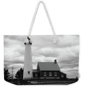 Lighthouse - Tawas Point Michigan Weekender Tote Bag
