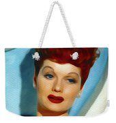Lucille Ball, Vintage Actress Weekender Tote Bag