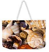 Mix Group Of Seashells Weekender Tote Bag