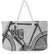 Motorcycle, 1895 Weekender Tote Bag