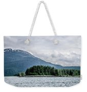 Mountain Range Scenes In June Around Juneau Alaska Weekender Tote Bag