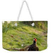 mr Pheasant Weekender Tote Bag