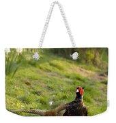 mr Pheasant Weekender Tote Bag