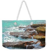 5- Ocean Reef Shoreline Weekender Tote Bag