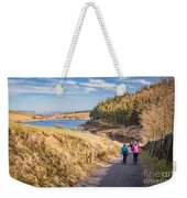 Pendle Hill Walk, North Yorkshire, Uk Weekender Tote Bag