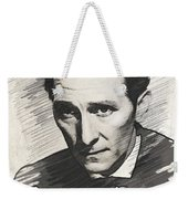 Peter Cushing, Vintage Actor Weekender Tote Bag