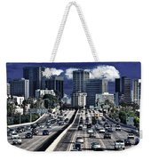 5 Pm Downtown Next Exit Weekender Tote Bag