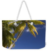 Polynesian Beach With Palms Weekender Tote Bag