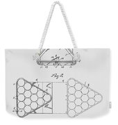 Pool Table Triangle Patent From 1915 Weekender Tote Bag