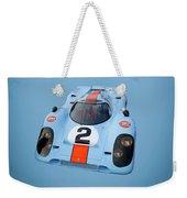 Porsche 917 Weekender Tote Bag