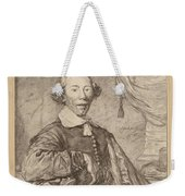 Portrait Of A Seated Man Weekender Tote Bag