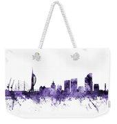 Portsmouth England Skyline Weekender Tote Bag