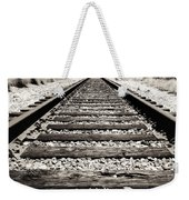Railway Tracks  Weekender Tote Bag