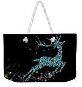 Reindeer Design By Snowflakes Weekender Tote Bag by Setsiri Silapasuwanchai