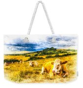 Resting Cows Art Weekender Tote Bag