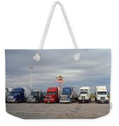 Route 66 - Dixie Truckers Home Weekender Tote Bag